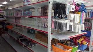 Hoàn thiện kệ bày hàng siêu thị tại Quảng Bình