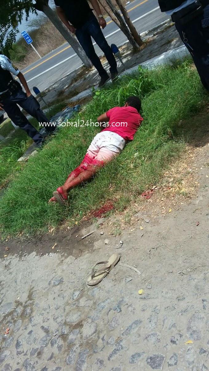 Bala e sangue em tentativa de assalto a posto de combustível em Sobral