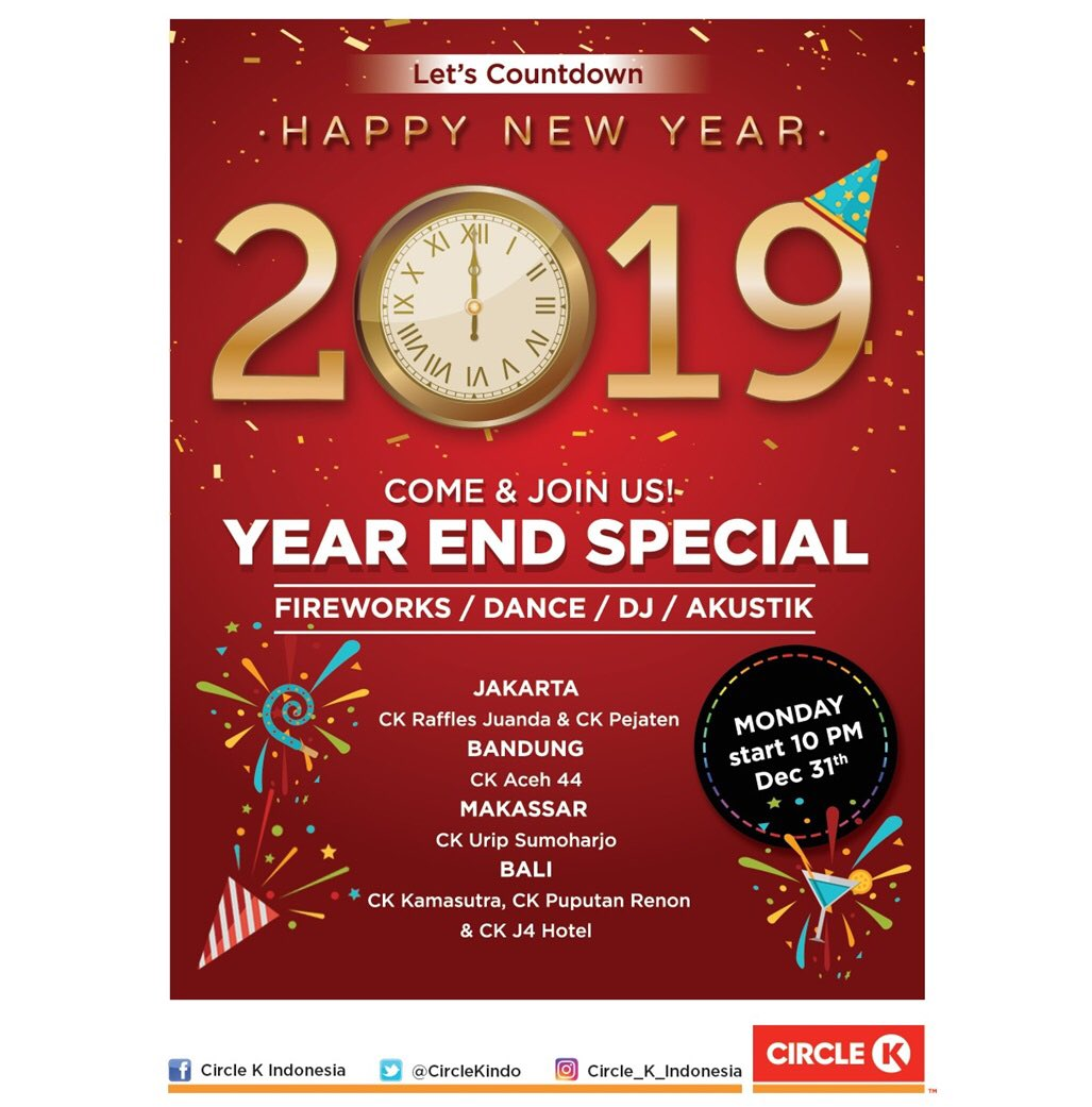 #CircleK - Promo Year End Special Event di outlet CK