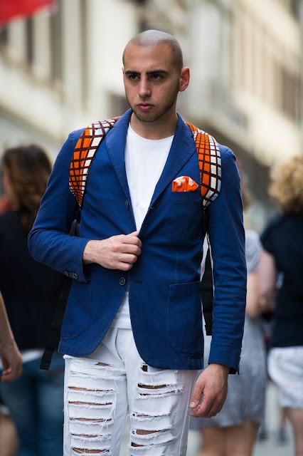 outfit uomo con giacca estiva