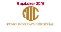 Lowongan Kerja PT. Molindo Raya Industrial (Malang) di Bulan Mei 2016