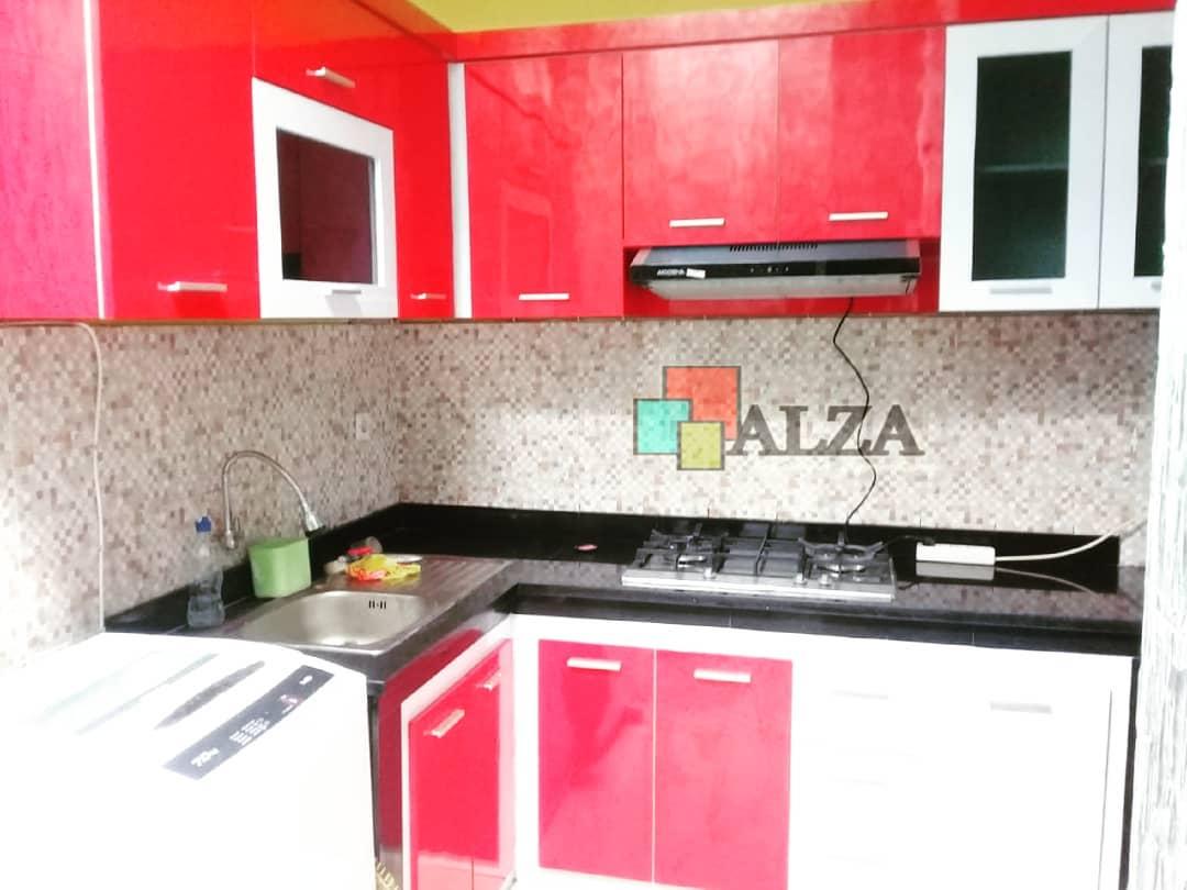 Kitchen Set Madiun Murah Minimalis Hpl Alzainterior Com