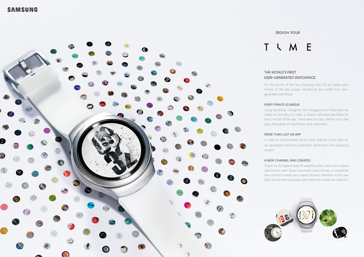 Samsung- Design Your Time