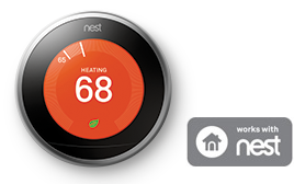 Nest Lutron Caseta Thermostat