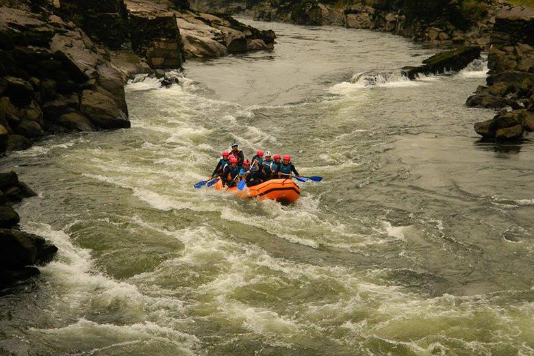 Rafting no rio Minho perto de Melgaço