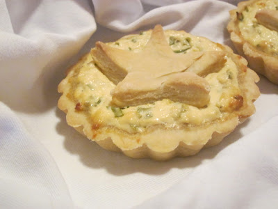Goat Cheese and Herb - A Tart Goes Light