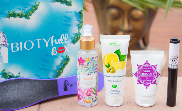 La Biotyfull Box de juillet : un pas vers le paradis ?