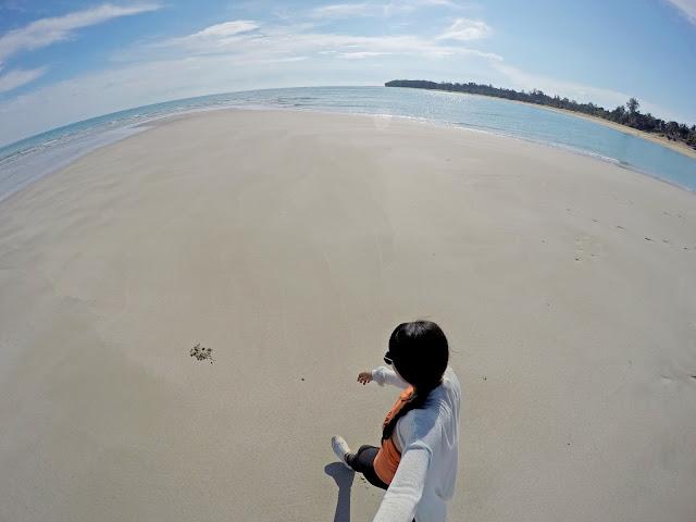 Rizza Salas x Jomalig Island Sandbar