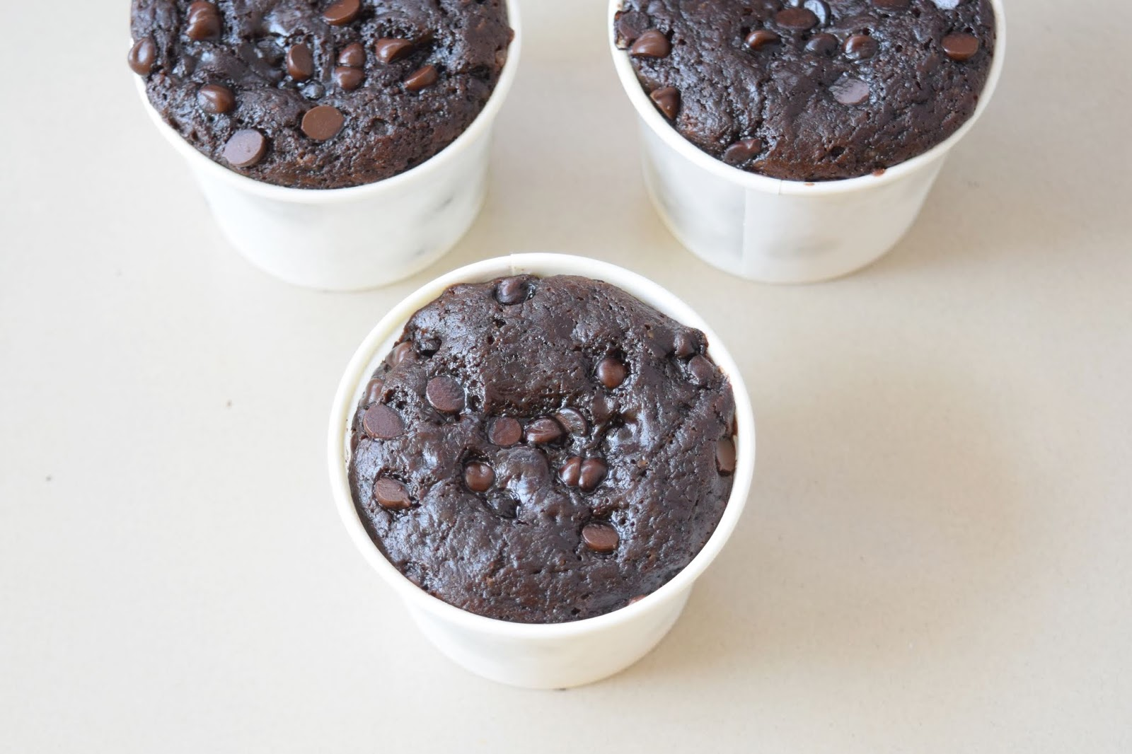 Double Chocolate Chips Cupcakes (Eggless) in Paper Cups & without Oven Recipe - पेपर कप और कड़ाई में बनाये एग्ग्लेस चॉकलेट चिप्स कपकेक्स  - Priya R - Magic of Indian Rasoi