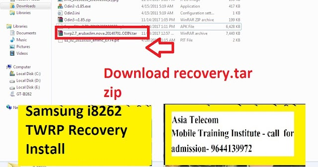 How To Install Twrp Recovery On Samsung J2 Model J200g By Odin