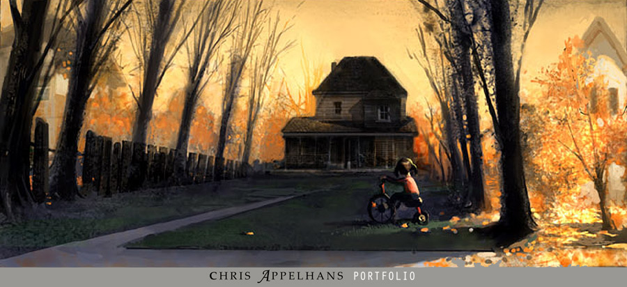 Living Lines Library: Monster House (2006) - Concept Art