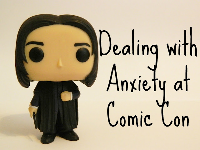 Dealing with Anxiety at Comic Con, Coping with Anxiety at Comic Con, Anxiety at Comic Con,