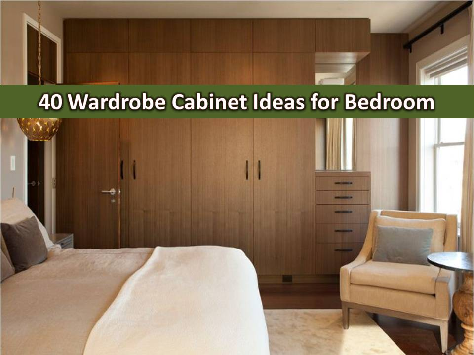Having a wardrobe cabinet maximizes all spaces inside of a room, especially for a bedroom. Common designs of wardrobe cabinet include shelving, hanging rails and drawers to accommodate all your needs. With this your lifestyle needs and everyday clothing easily accessible. Wardrobe cabinet makes you save time if it is organized. Here are some examples you can have in your home.