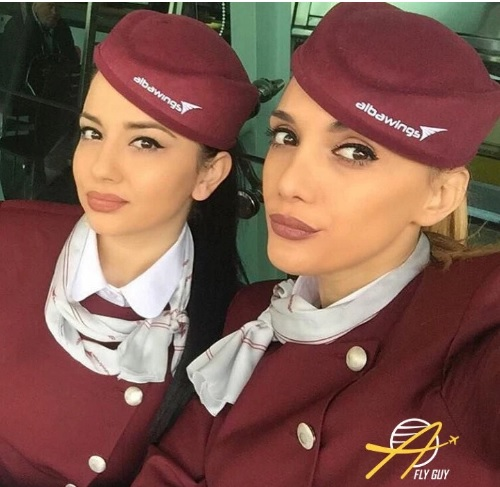 Albanian stewardesses among most beautiful in the world according to Fly Guy