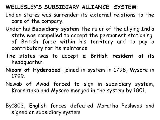 lord wellesley administrative reforms