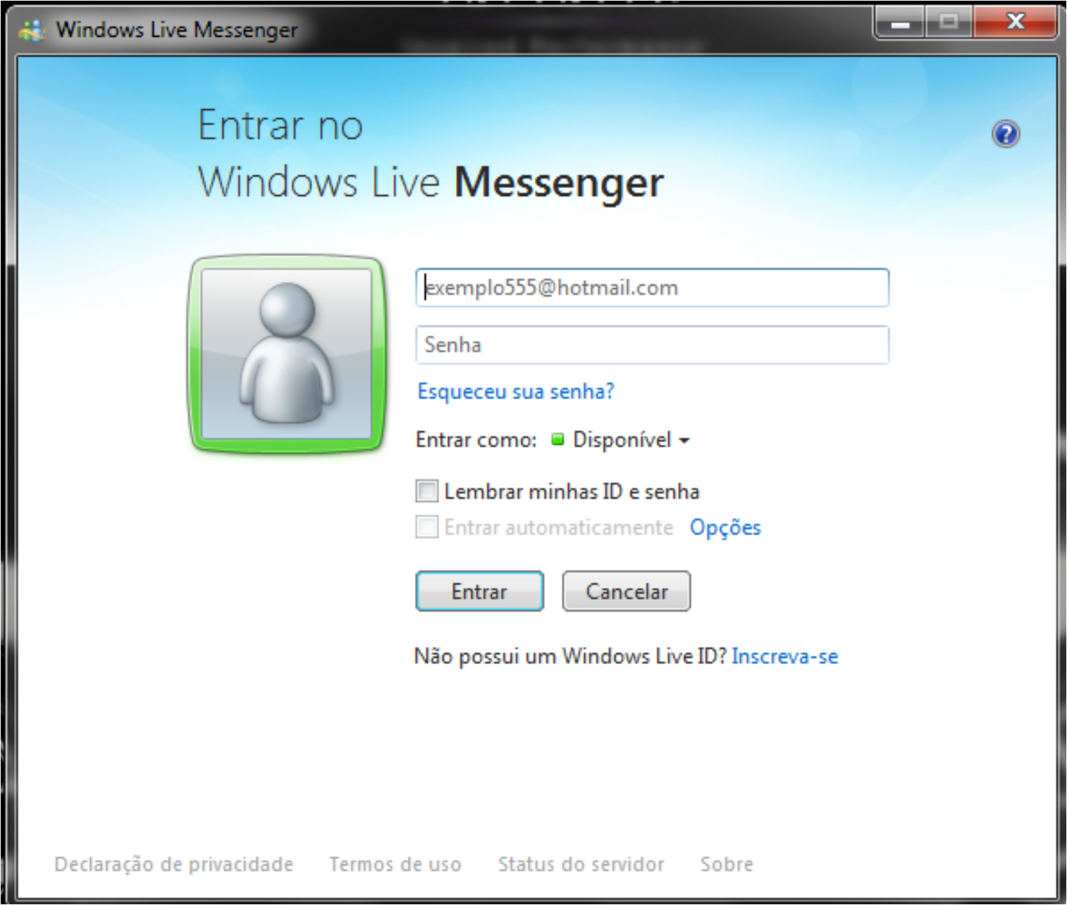 Msn De Login Sign