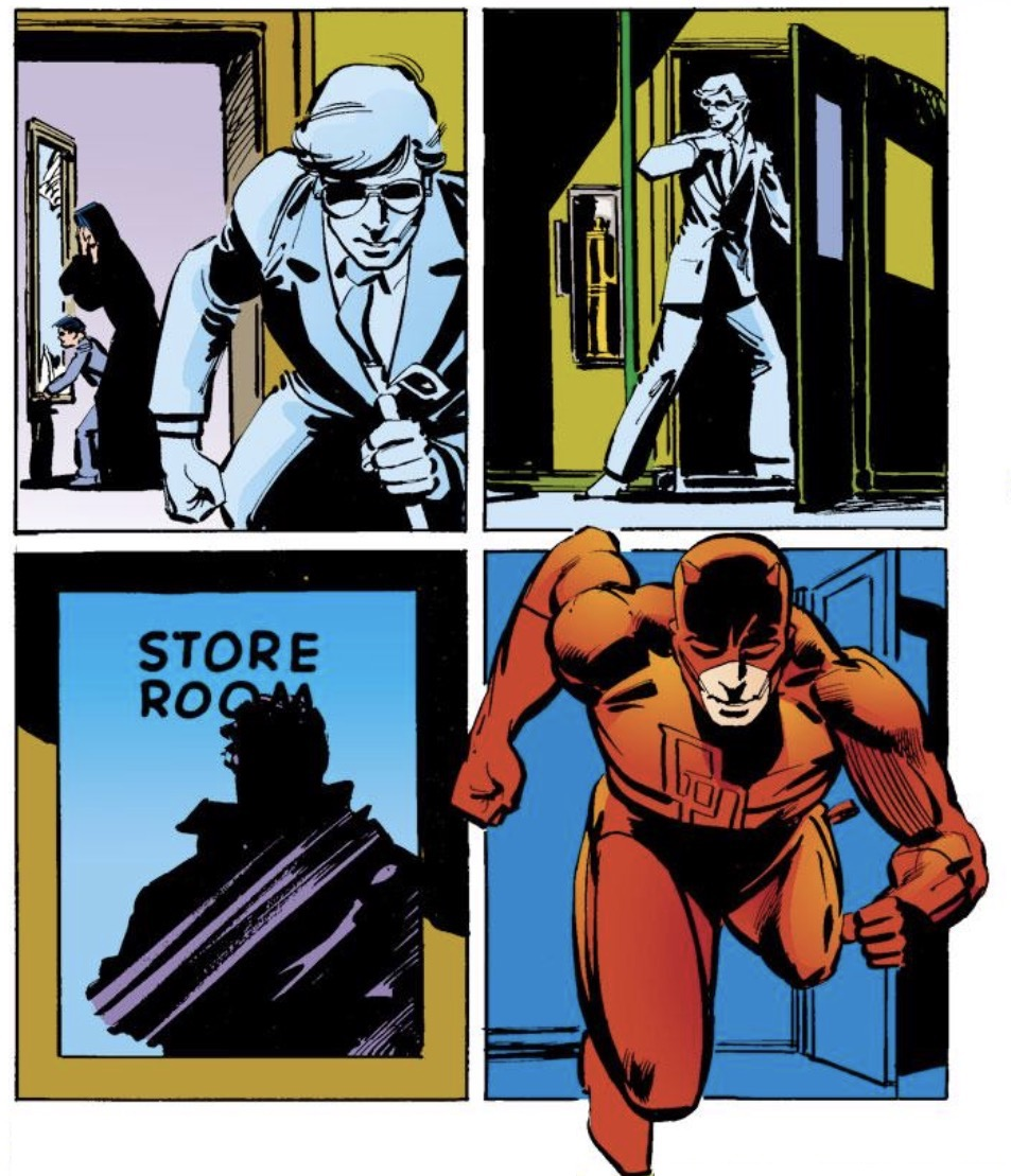 NOT A HOAX DREAM DAREDEVIL BY FRANK MILLER