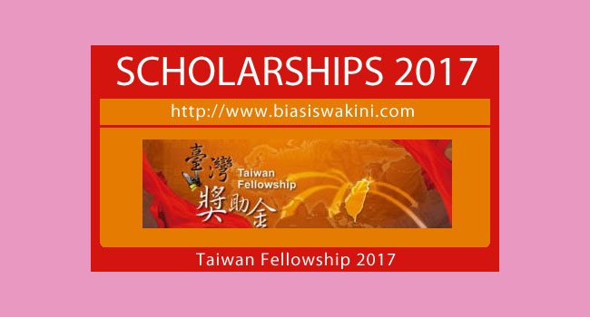 Taiwan Fellowship 2017