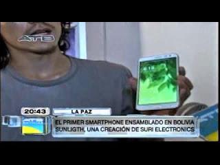 VIDEO: G8000 Sunlight primer teléfono inteligente boliviano