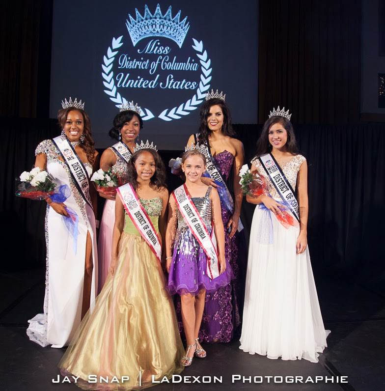 Pictured left to right: Ms. DC Allison Hill, Miss Teen DC Krischell ...