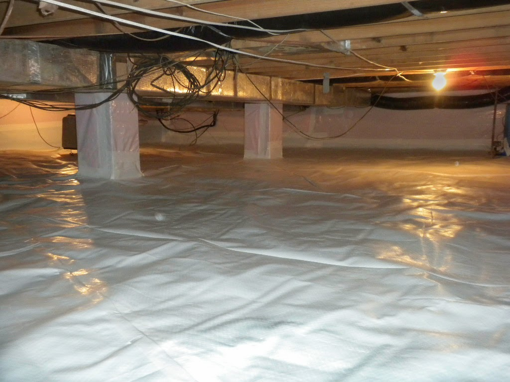 Whitecap Encapsulation In Ohio Crawl Space - Basement Doctor