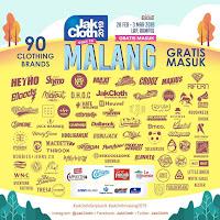 Sale 90 merk Pakaian di JakCloth Goes To Malang