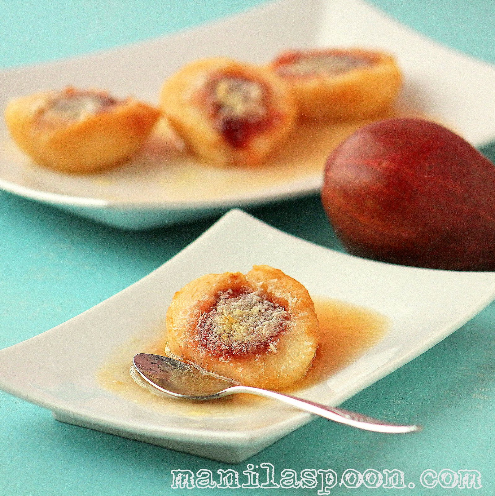 Baked Pears in White Wine