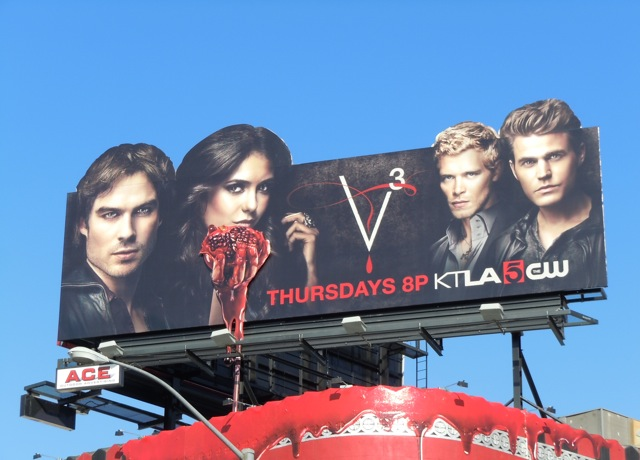 Vampire Diaries season 3 billboard