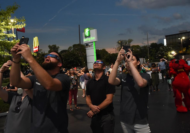 Сонячне затемнення у США