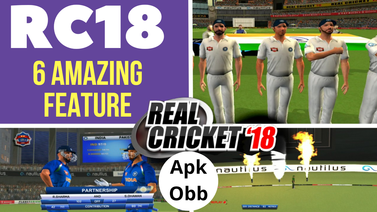🔥 Real cricket 18 2 1 new update , Download Apk-obb