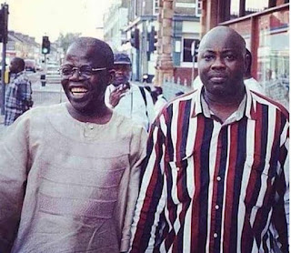 This Throwback Photo Of Tinubu And Dele Momodu In 1996 Will Make You Laugh Hard (Photo)