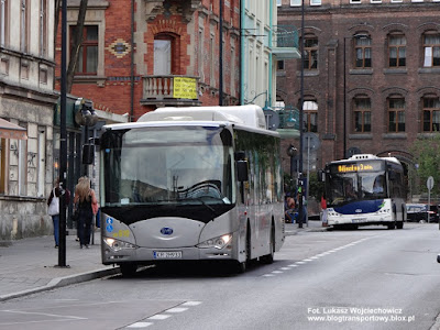 BYD eBus 12, MPK Kraków