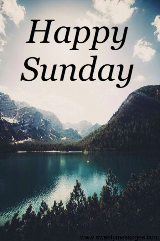 Happy Sunday Images Funny Beautiful Messages