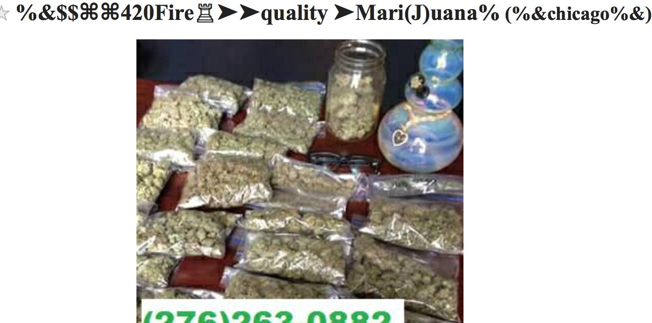 how to find a drug dealer on craigslist
