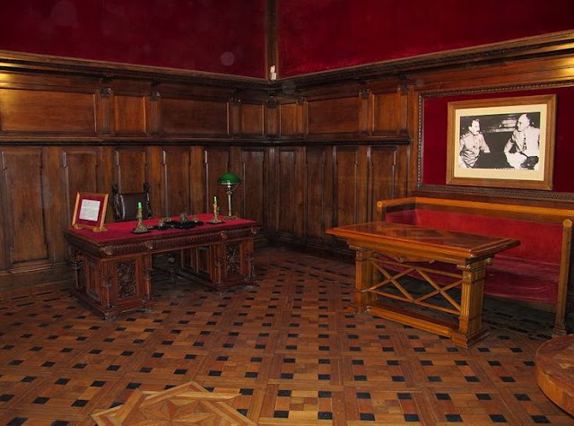 Parquet Flooring - Roosevelt Room, Livadia Palace