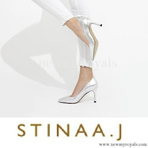 Princess Sofia- wore Stinaa.j Pumps