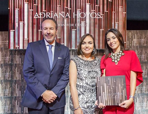 Adriana Hoyos presenta su libro A PASSION FOR DESIGN