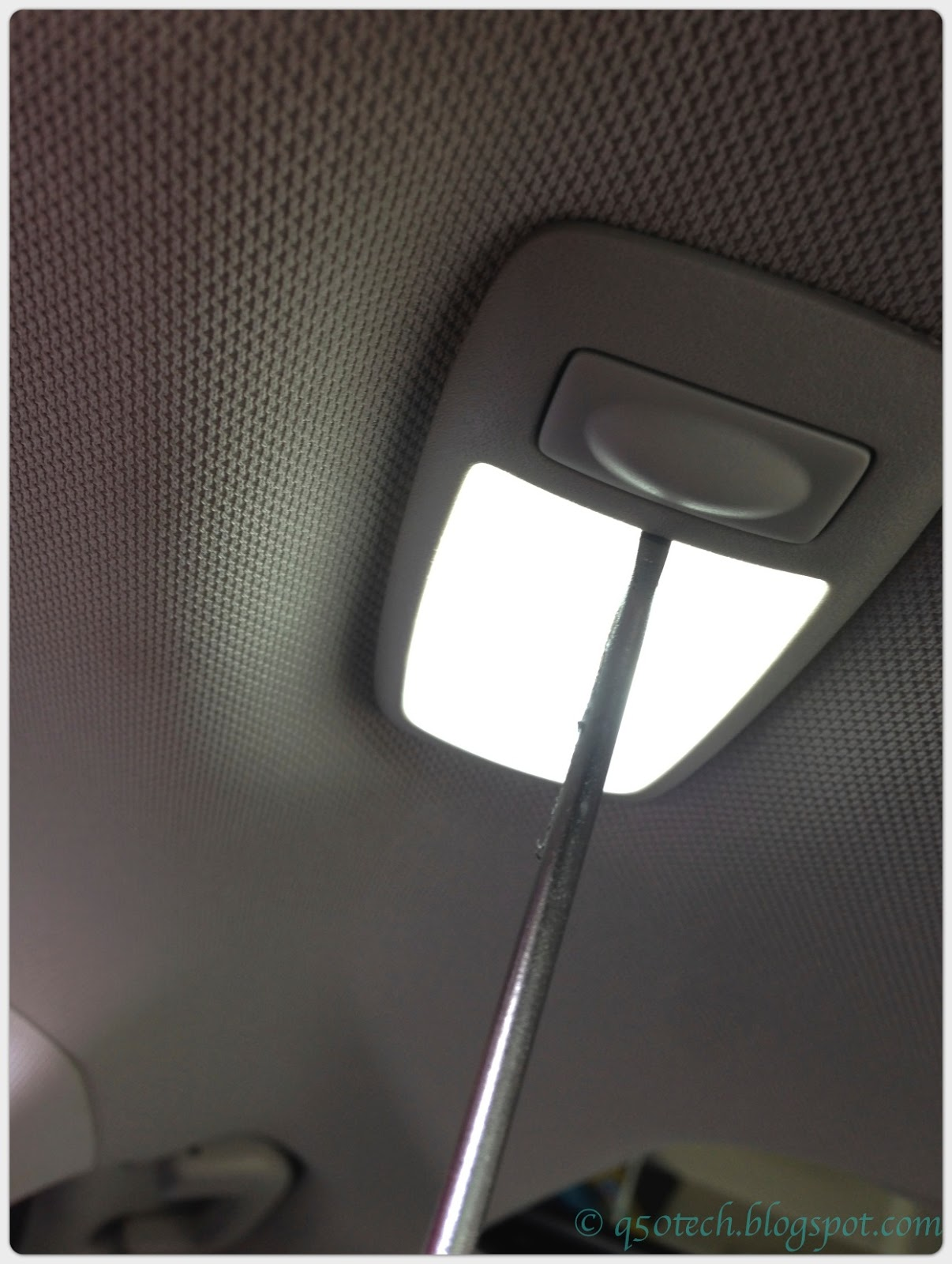 Infiniti Q50 Technical Operational Blog Led Diy 2015 Wiring Diagram Pop Out Lens Already Installed