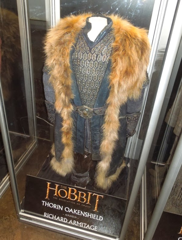 Richard Armitage Thorin costume Hobbit Desolation of Smaug