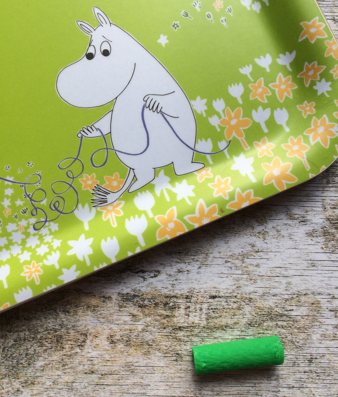 a chewie and moomin tray