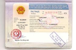 Visado a Vietnam actualizado 2019