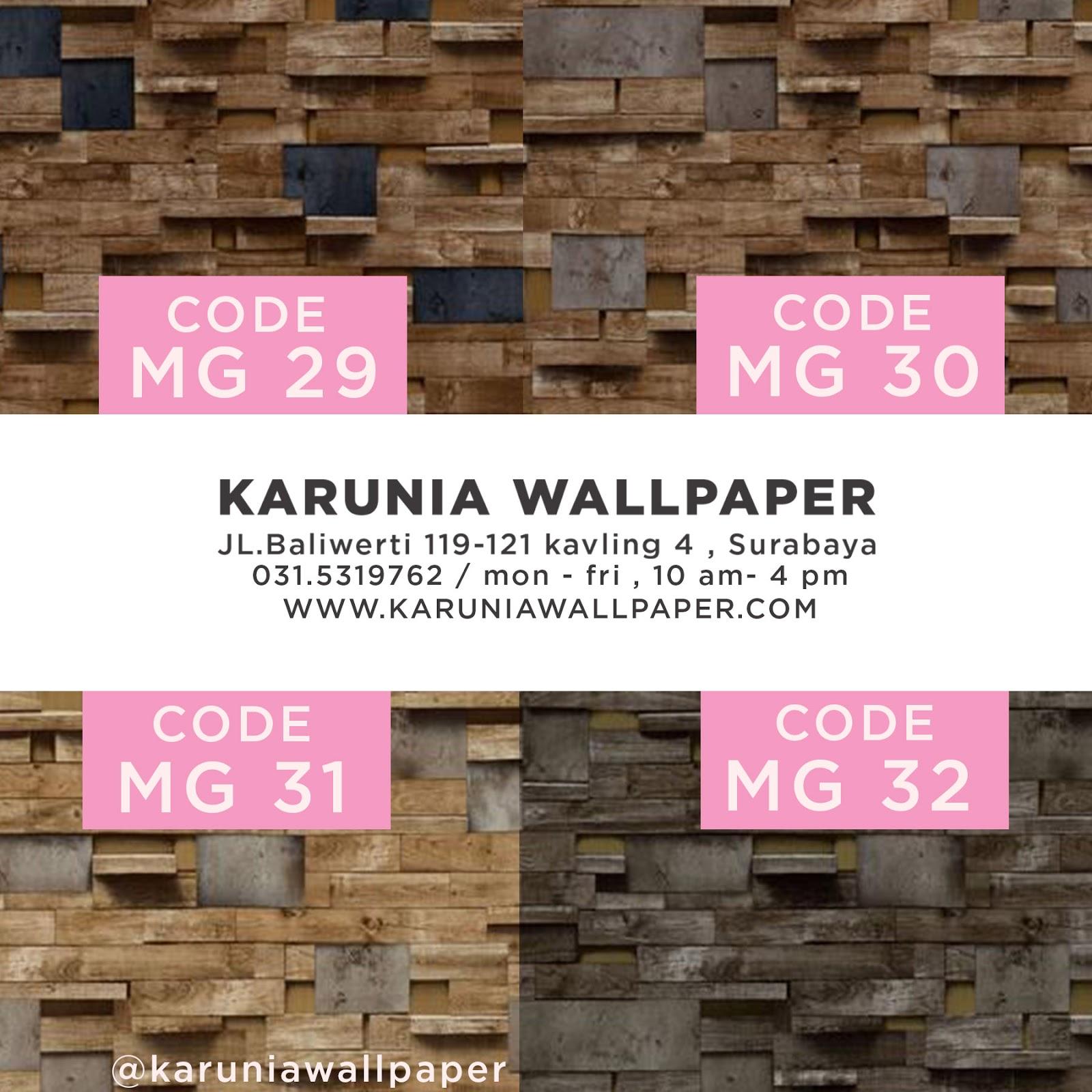 jual wallpaper dinding batu bata rol besar