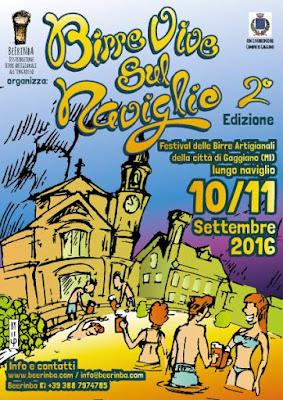 Birre vive sul Naviglio 12-13 Settembre Gaggiano (MI) 2016