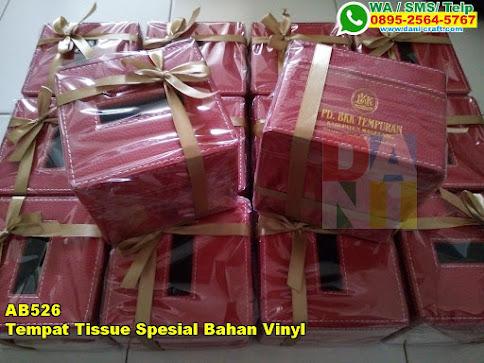 Grosir Tempat Tissue Spesial Bahan Vinyl
