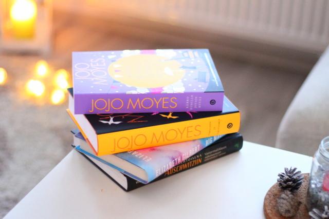 kirja Jojo Moyes lukulista luettavaa big magic