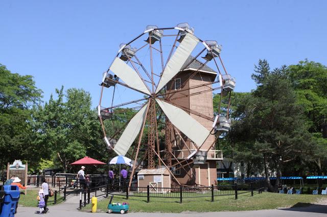 Centreville Park nas Ilhas de Toronto