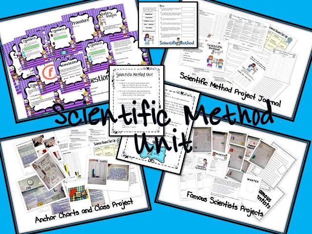 3 Teacher Chicks Scientific Method Madnessand giveaway