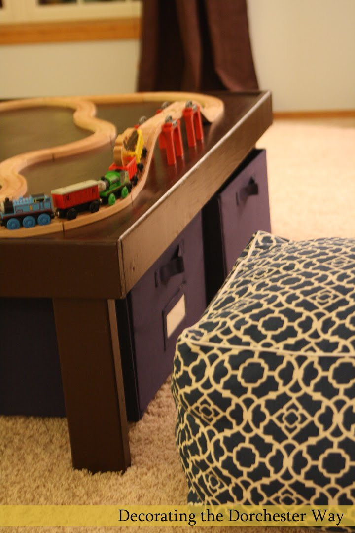Decorating The Dorchester Way Diy Train Table