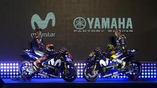 Tampil Beda, Motor Keren  2018 Valentino Rossi dan Maverick Vinales