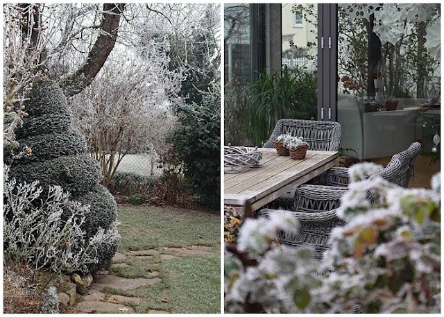 Januargarten Und Ein Dankeschön - Hauszeit Grundprinzipien Des Gartendesigns